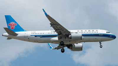 A picture of B301Y - Airbus A320251N - China Southern Airlines - © xuhaoqing995