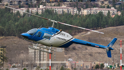 C-GPSX - Bell 206B JetRanger III - Valhalla Helicopters