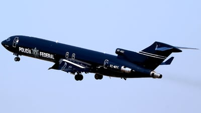 XC-MPF - Boeing 727-264(Adv) - Mexico - Police
