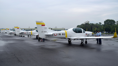 LD-1223 - Grob G120TP - Indonesia - Air Force