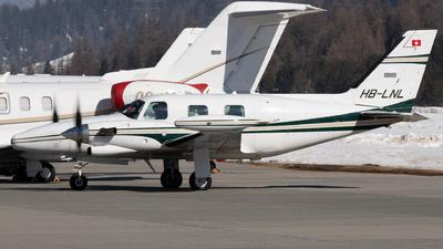 A picture of HBLNL - Piper PA31T Cheyenne - [31T8020083] - © Joel Basler
