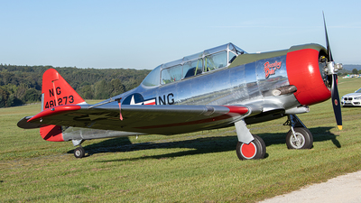 G-CJWE - Canadian Car and Foundry Harvard Mk.IV - Private