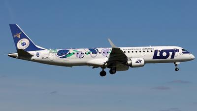 SP-LNC - Embraer 190-200LR - LOT Polish Airlines