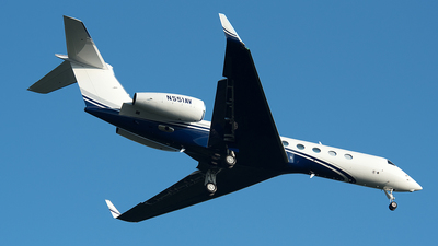 N551AV - Gulfstream G550 - Private