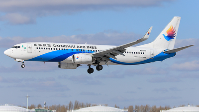 B-1770 - Boeing 737-8Q8 - Donghai Airlines