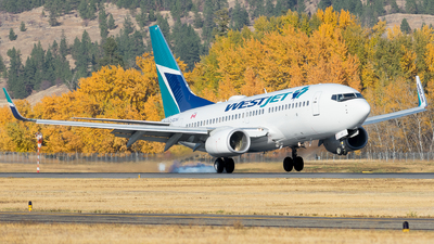 C-GCWJ - Boeing 737-7CT - WestJet Airlines