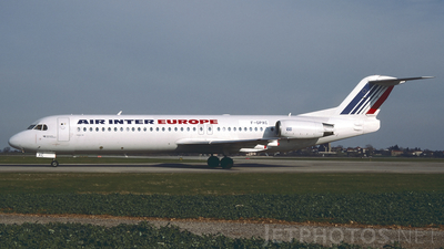 F-GPXC - Fokker 100 - Air Inter Europe