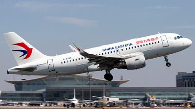 A picture of B6469 - Airbus A319115 - China Eastern Airlines - © Jensen Han