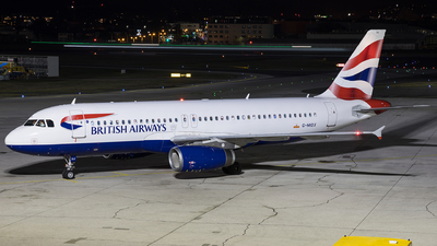 A picture of GMIDX - Airbus A320232 - British Airways - © David Schilcher