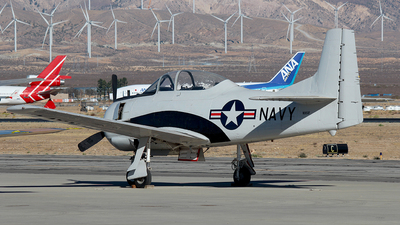 N105SF - North American T-28B Trojan - Private