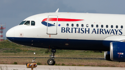 G-EUUW - Airbus A320-232 - British Airways