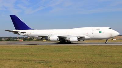 A picture of TFAMR - Boeing 74745E(BDSF) - Air Atlanta Icelandic - © Helmut Schnichels
