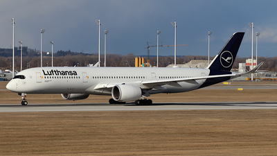 A picture of DAIXN - Airbus A350941 - Lufthansa - © ms spot