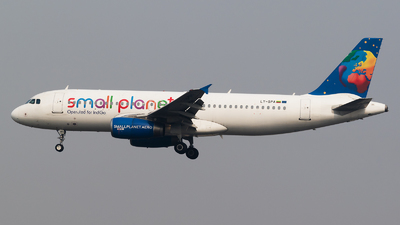 LY-SPA - Airbus A320-232 - IndiGo Airlines (Small Planet Airlines)