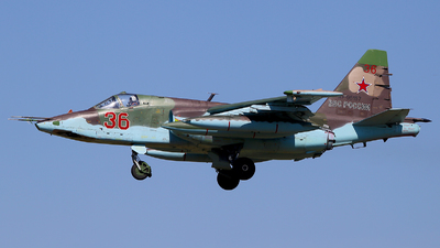 RF-95157 - Sukhoi Su-25BM Frogfoot - Russia - Air Force
