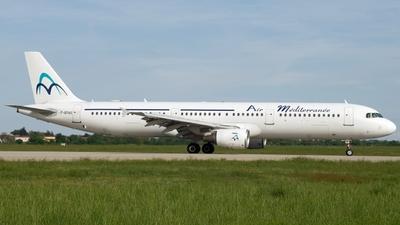 F-GYAO - Airbus A321-211 - Air Méditerranée