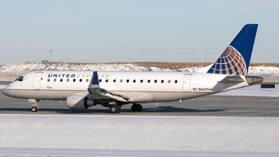 A picture of N160SY - Embraer E175LR - United Airlines - © Mike MacKinnon