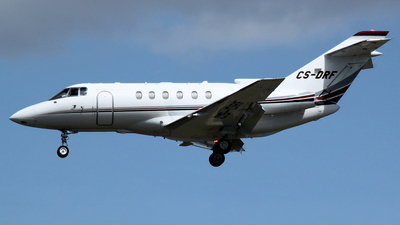 CS-DRF - Raytheon Hawker 800XP - NetJets Europe