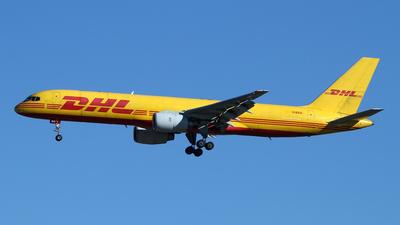 A picture of GBIKA - Boeing 757236(SF) - DHL - © Óscar López Herrero