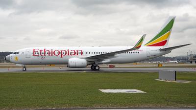 ET-AQO - Boeing 737-860 - Ethiopian Airlines