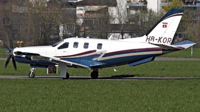 HB-KOR - Socata TBM-850 - Private