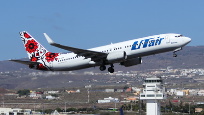 UR-UTR - Boeing 737-8Q8 - UTair Ukraine