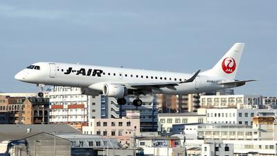 A picture of JA246J - Embraer E190STD - Noble Air Charter - © kouyagi