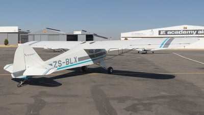 ZS-BLX - Taylorcraft BC-12D - Private
