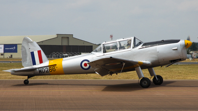 G-BBND - De Havilland Canada DHC-1 Chipmunk T.10 - Private