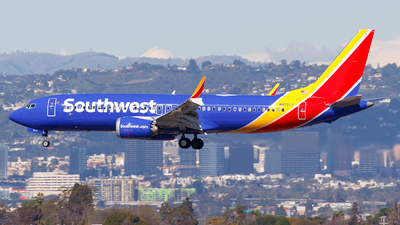 A picture of N8721J - Boeing 737 MAX 8 - Southwest Airlines - © James Rowson