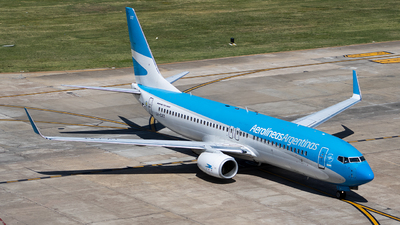 A picture of LVCXT - Boeing 73781D - Aerolineas Argentinas - © Mariela Camerano
