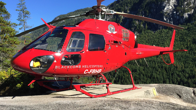C-FBHB - Eurocopter AS 355N Ecureuil 2 - Blackcomb Helicopters