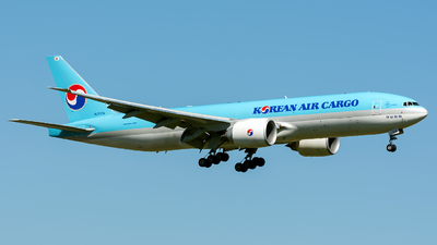 HL8076 - Boeing 777-FB5 - Korean Air Cargo