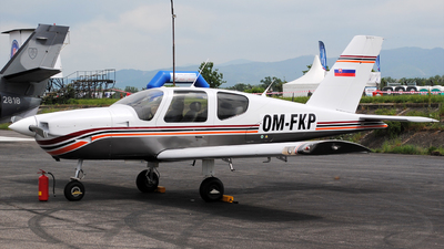 A picture of OMFKP - Socata TB10 Tobago - [1928] - © Marian Chovancak