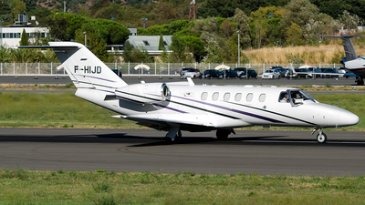 F-HIJD - Cessna 525A CitationJet 2 Plus - Ixair