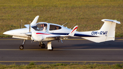 A picture of OMRWI - Diamond DA42 NG Twin Star - [42.N101] - © András Soós