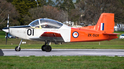 ZK-DGY - Pacific Aerospace CT-4B Airtrainer - Private