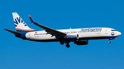 TC-SOY - Boeing 737-8HC - SunExpress