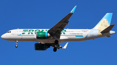 A picture of N303FR - Airbus A320251N - Frontier Airlines - © Chrisjake