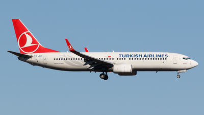 TC-JHR - Boeing 737-8F2 - Turkish Airlines