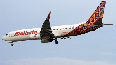 9M-LND - Boeing 737-8GP - Malindo Air