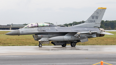 90-0844 - General Dynamics F-16D Fighting Falcon - United States - US Air Force (USAF)