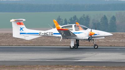 A picture of FHCTD - Diamond DA42 Twin Star - ENAC Ecole Aviation Civile - © Filipe Santos Rocha