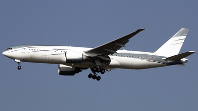 VP-CAL - Boeing 777-2KQLR - Private