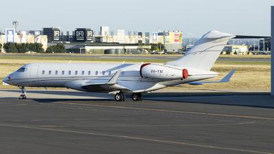VH-YAI - Bombardier BD-700-1A10 Global 6000 - Private