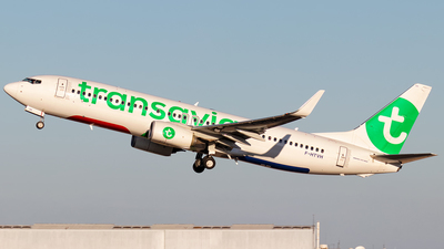 F-HTVH - Boeing 737-8K2 - Transavia France