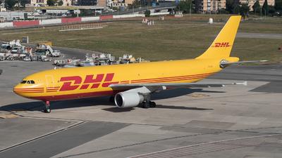 A picture of EIDGU - Airbus A300B4622R(F) - DHL - © Marcello Montagna