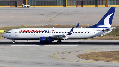 TC-JGB - Boeing 737-8F2 - AnadoluJet