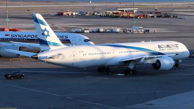 A picture of 4XEDB - Boeing 7879 Dreamliner - El Al - © Andriy Yegorov