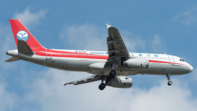 A picture of B6322 - Airbus A320232 - Sichuan Airlines - © xuhaoqing995